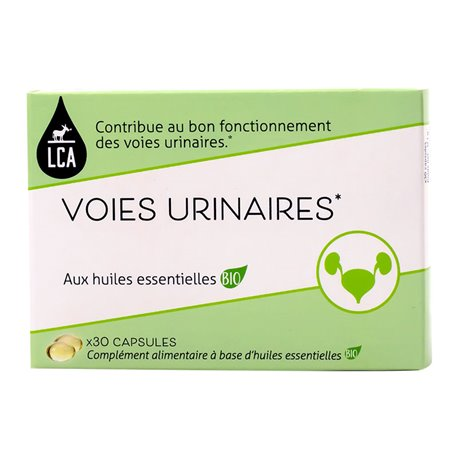LCA Voies Confort Voies urinaires 30 capsules