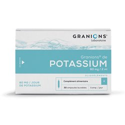 Granions POTASIO ampollas 2ML 30