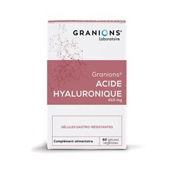 Granions HYALURONIQ ACID 200MG 60 CAPSULES GASTRO-RESISTANT