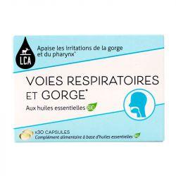 LCA Voies respiratoires et Gorge 30 capsules Aromathérapie