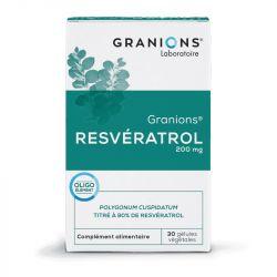 Granions RESVERATROL 200MG Kapseln 30 antioxidan TS