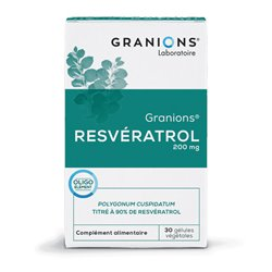 Granions resveratrol 30 Capsules 200mg ANTIOXIDANTEN