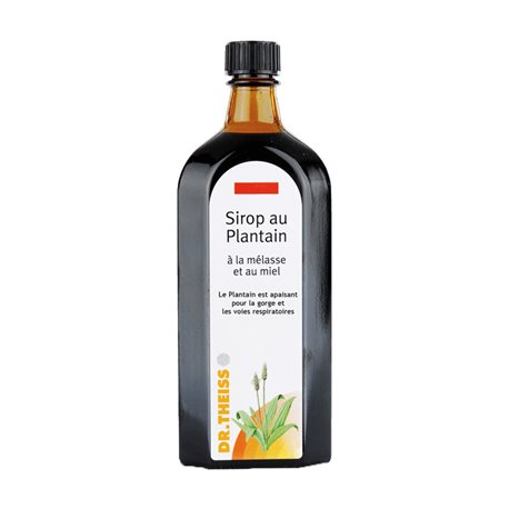 Dr Theiss Plantain Sirop Toux 250 ml