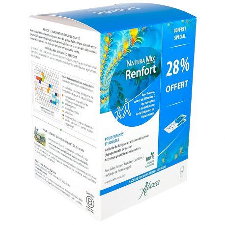 Aboca Natura Mix Advanced Renfort Fatigue passagère 20 sachets