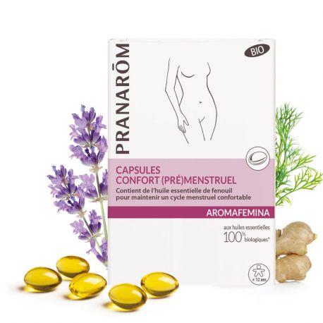 AROMAFEMINA confort prémenstruel bio 30 capsules