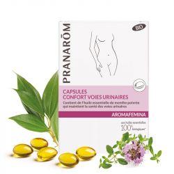 AROMAFEMINA confort urinario bio 30 cápsulas.