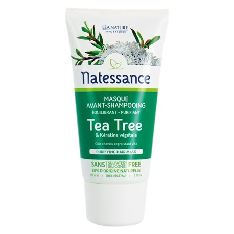 Natessance Tea Tree Masque Purifiant Vant Shampoing 150ml