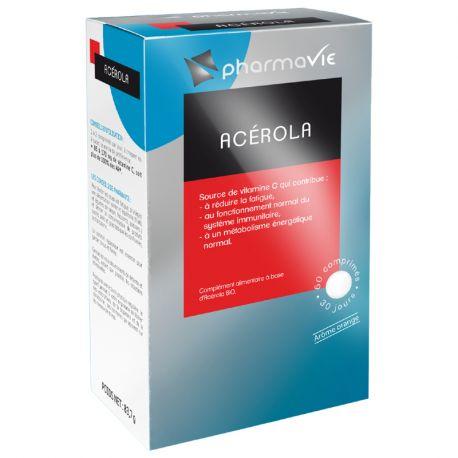 Acérola 60 comprimés Pharmavie