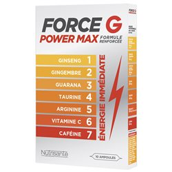 FORCE G POWER MAX BOOSTER shot AMPOULES
