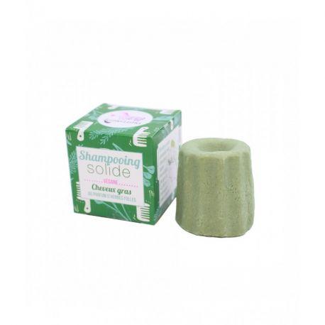 Lamazuna shampooing solide cheveux gras Herbes Folles 55g