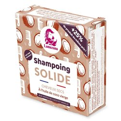 Lamazuna shampooing solide cheveux secs Vanille Coco 55g