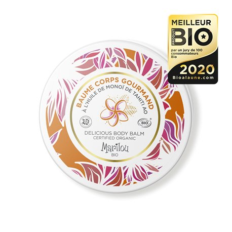 Marilou Bio Huile Monoï AO Baume Corps Gourmand 150 ml