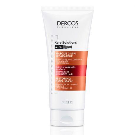 Buy Dercos Kera Hair Mask Solutions 200 Ml In Pharmacy