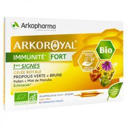 ArkoRoyal Resistance Immunité Fort 20 ampoules