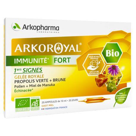 ArkoRoyal Immunité Fort Bio 20 ampoules