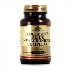 Solgar Collagène Acide Hyaluronique 30 Comprimés