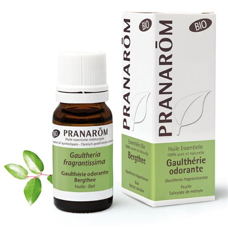 Óleo essencial Orgânica Wintergreen Pranarom perfumado gaultheria fragrantissima