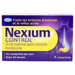 Nexium control de esomeprazol 20 mg gastrorresistente