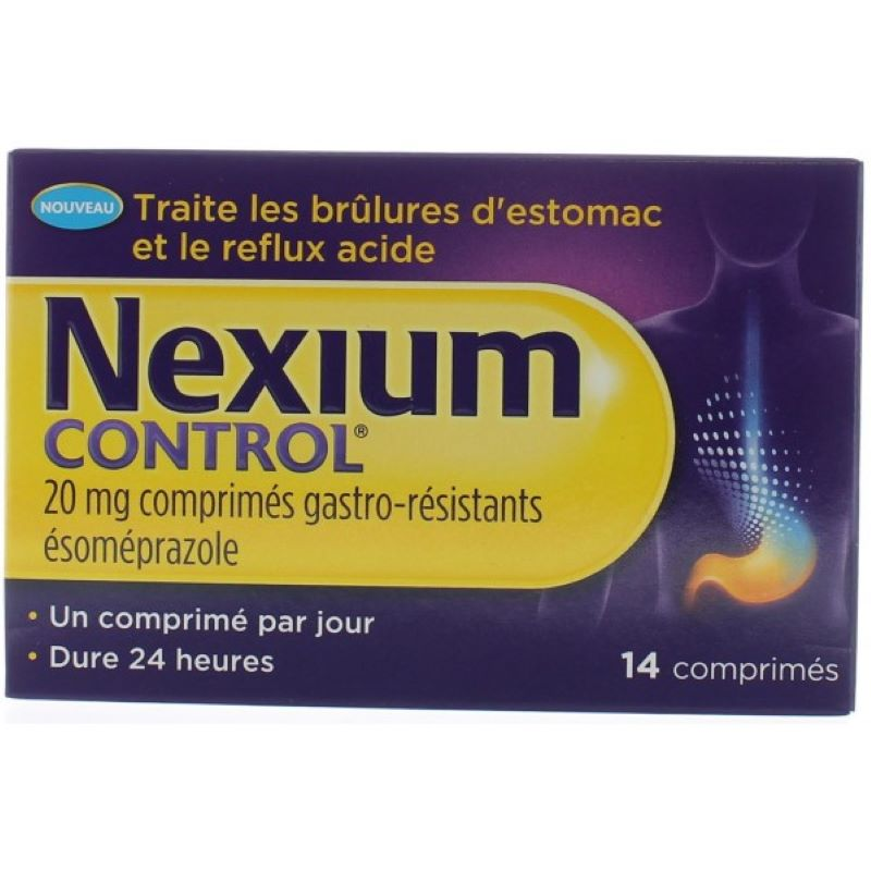 Nexium Control 20 Mg Esomeprazole For Sale In Our Pharmacy