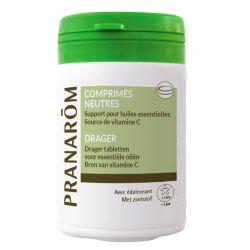PRANAROM 30 comprimés neutres Support huile essentielle