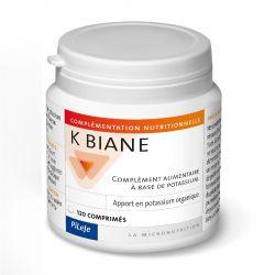 PILEJE Biane POTÁSSIO ORGÂNICO K-120 K-COMPRIMESAgrandir facebooktwitterstarPILEJE Biane 120 comprimidos orgânico potassium