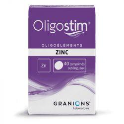 OLIGOSTIM ZINC 40 comprimidos Granions