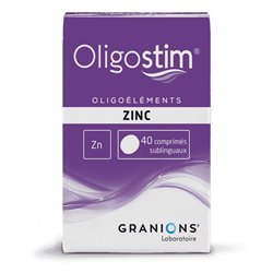 OLIGOSTIM ZINC 40 comprimés Granions