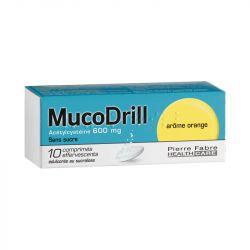 COUGH MUCODRILL BOLD SABOR LARANJA 10 comprimidos efervescentes