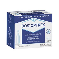EYE WASH DOS'OPTREX 15 DOSES