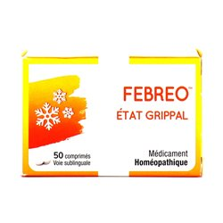 FEBREO State Infopenza Influenza Bausch + Lomb 25 Tablet