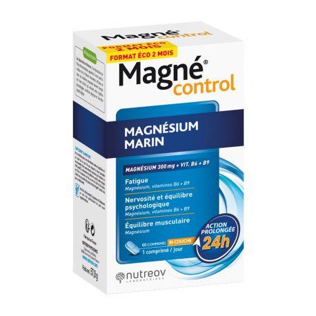 Magné Control Magnésium Marin 60 Comprimés Nutréov