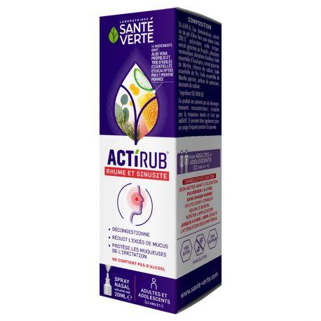 ACTI'RUB ADULT HEALTH GREEN SPRAY 20 ML