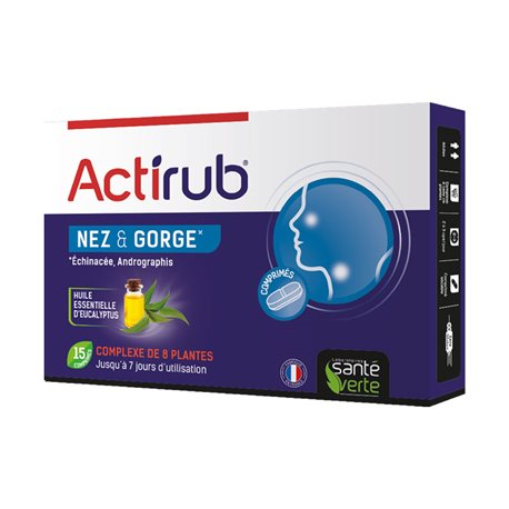 GREEN STATE HEALTH ACTI'RUB INFLUENZA 15 TABLETS