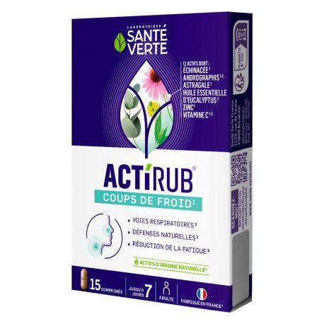 GREEN stato di salute ACTI'RUB INFLUENZA 15 COMPRESSE