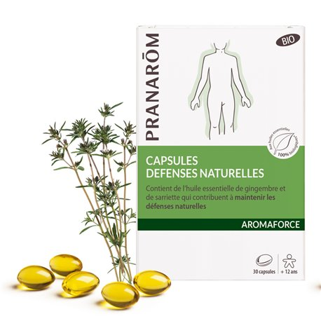 Aromaforce 30 capsules défenses naturelles Pranarom