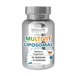 Multivitamine liposomal Biocyte longevity 60 gélules