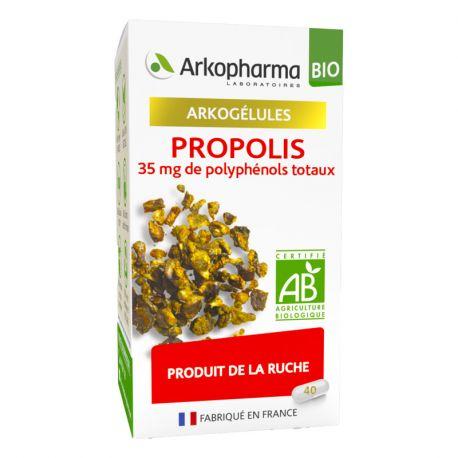 ARKOGELULES Propolis 40 gelules BIO Arkopharma