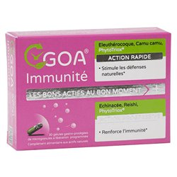 GOA Immunité Défenses naturelles 30 gélules WePhyt