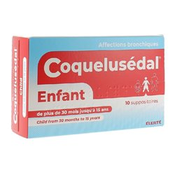 COQUELUSEDAL enfant suppositoire rhume état grippal