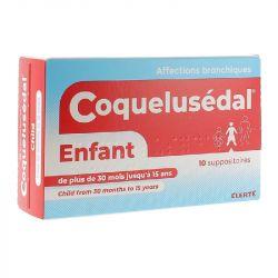 Criança supositório COQUELUSEDAL sintomas de gripe frio