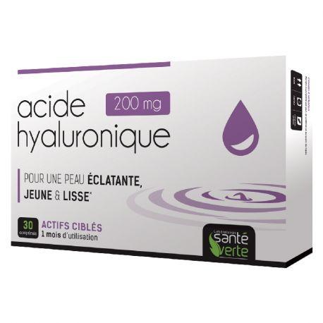 Inecla Ácido Hialurónico Green Health 30 Tabletas