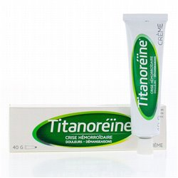 TITANOREINE emorroidi tubo di crema 40G