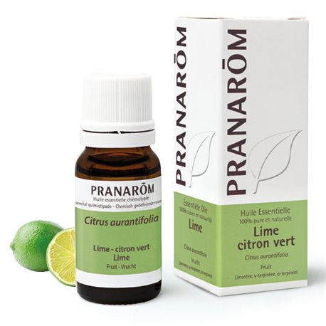 ESSENTIAL OIL Lime Lime Citrus Aurantifolia 10 ml PRANAROM