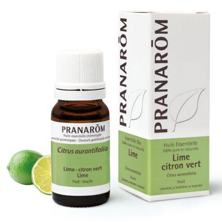 Huile essentielle Lime Citron vert citrus aurantifolia 10 ml PRANAROM