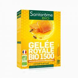SANTAROME BIO Geléia Real Bio 1500 20 ampolas 10ml