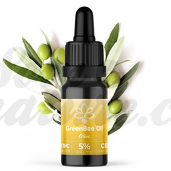 Aceite de cáñamo orgánico enriquecido CBD GreenbeeTO 10 ml