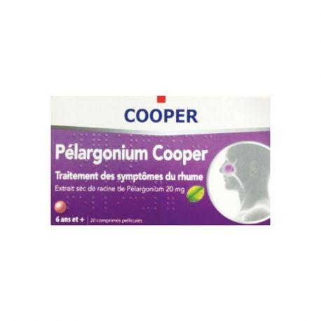 Estratto secco naturale di Pelargonium COOPER 20 compresse fredde