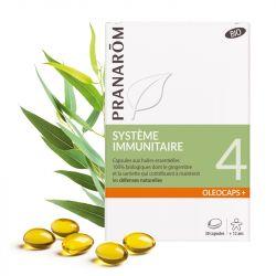 Pranarôm OLEOCAPS 4 BIO Système Immunitaire (défenses naturelles) 30 CAPSULES