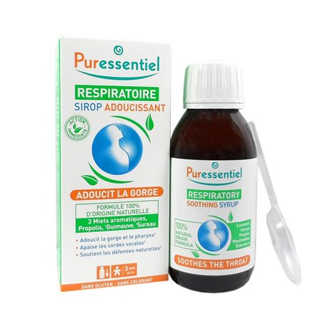 Puressentiel تليين التنفسي شراب 125ML
