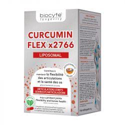 Biocyte Curcumin Flex x2766 souplesse articulaire 120 gélules